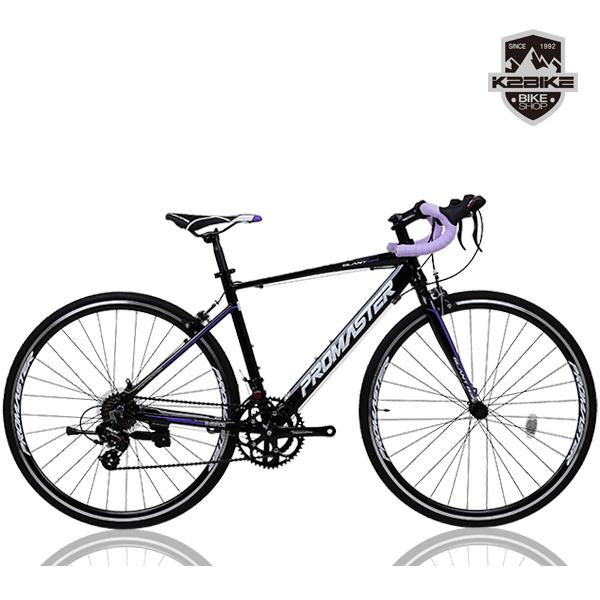 PROMASTER 2021 프로마스터 로드자전거 슬란트R3 700C 시마노14단 로드 자전거, 슬란트R3(490)블랙+퍼플 완조립