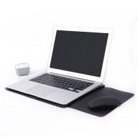 아카빌라 삼성 갤럭시북 플렉스2 프로 360 이온 2 패드겸용 슬리브 노트북 파우치, 블랙 (TOP 1153596409)