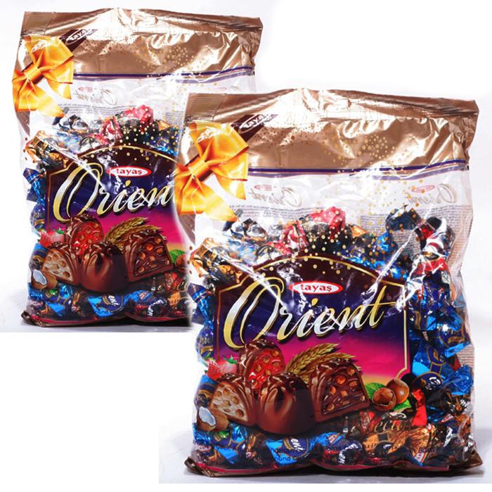 tayas 무료배송) 타야스 오리엔트 초콜릿1kg x 2봉, 1세트