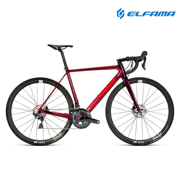 GIFT 로드자전거 2021년 엘파마 레이다 디스크 R8000D 울테그라 카본, 매트블랙실버 470