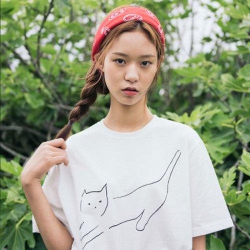 [텐바이텐] [Organic cotton] The Cat (white ivory)