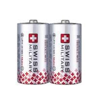 스위스밀리터리 알카라인 C형 벌크형 건전지, 2개 (TOP 87790294)