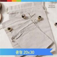 마크라메 네트백 이너가방 중형 복조리 파우치 백인백 (TOP 5455172135)