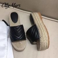 토앤토 쪼리 플립플랍 플랫 샌들 신발 패션 슬리퍼 Ollymurs 봄 정품 가죽 럭셔리 브랜드 폼 Zapatos Mujer (TOP 5920514357)