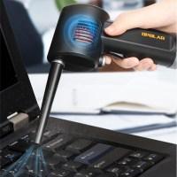 OPOLAR 가정용 차량용 컴퓨터 청소 미니 USB 충전 컴프레셔 에어건 블로어, 블루 (TOP 5466595418)
