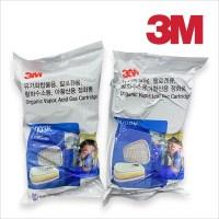 3M 6003K 방독면 공업용 마스크 정화통 (TOP 285799502)