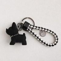 바네코쥬얼리 키링 강아지 스트랩  에어팟 자동차용품 K-0384, 블랙 (TOP 5797213701)
