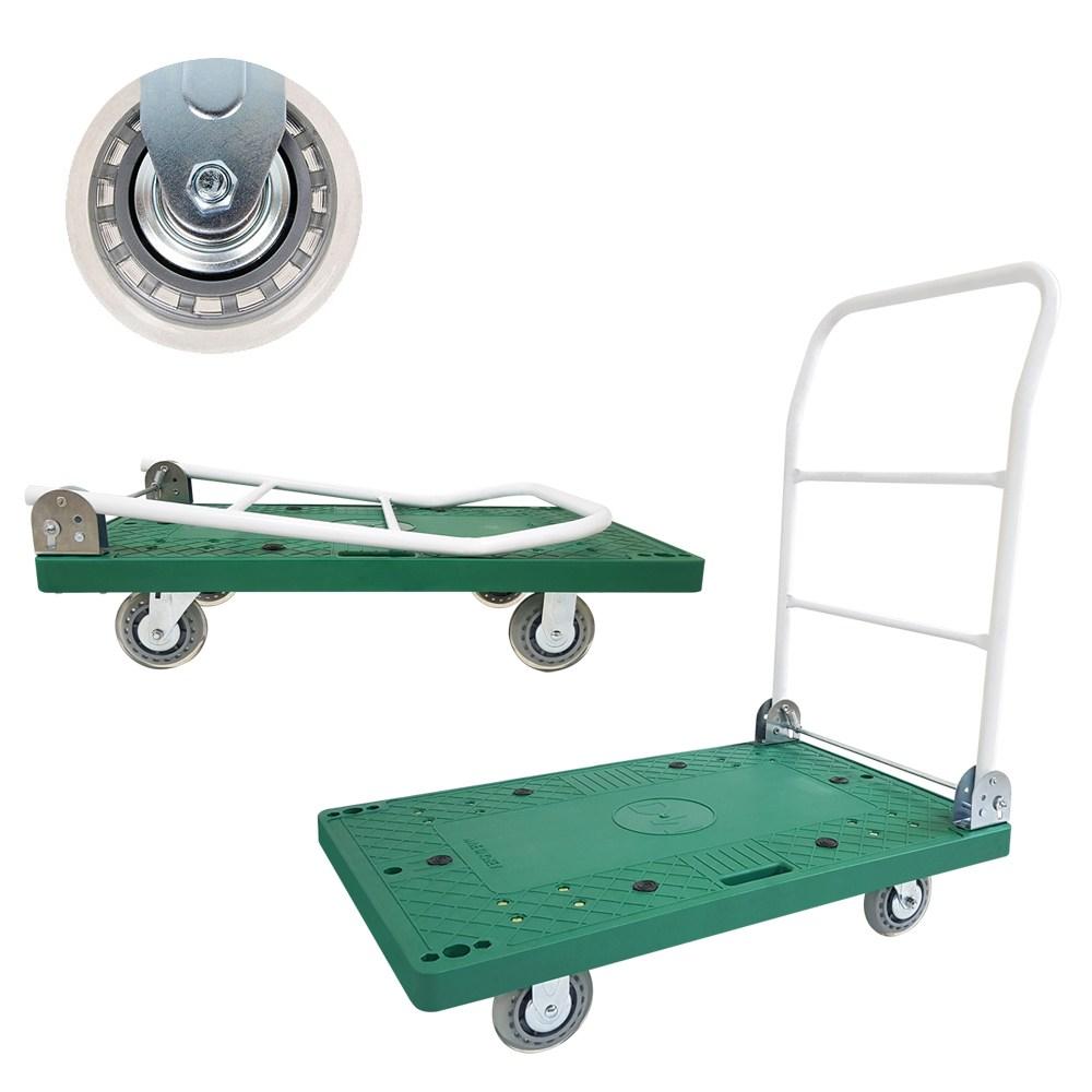 바퀴온 접이식 대차 구르마 대형 무소음 인라인 바퀴
