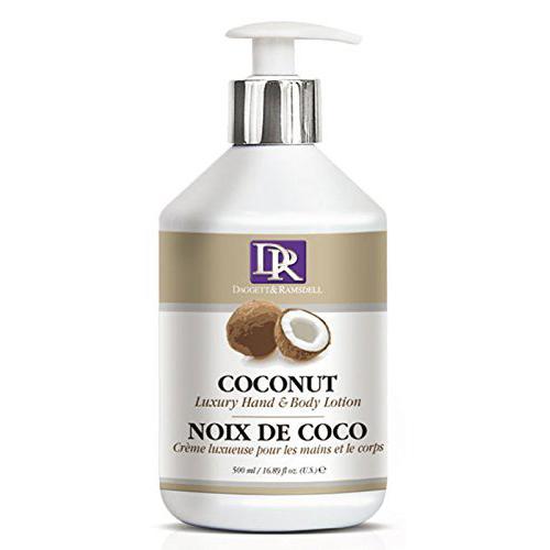 다젯앤램스델 럭셔리 핸드 & 바디 로션 코코넛, 1개, 500ml