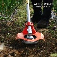 예초기장착 자동호미 잡초제거기 제초기 잡초뿌리제거기 밭갈이 텃밭 농기구 (TOP 1646605283)