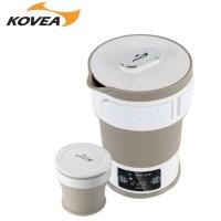 코베아 접이식 전기 포트 KEFW9EK-01여행 캠핑 라면포트 프리볼트, 01. 베이직 색상 (TOP 216178008)