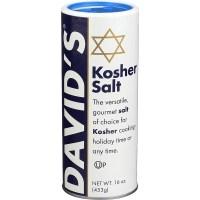데이비드 코셔 소금 솔트 16oz(453g) 6팩 David's Kosher Salt, 1개 (TOP 1286428235)