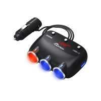 카테크 차량용 시거잭 충전기 3구 고속충전 퀄컴 (POP 1821431304)