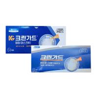 유한킴벌리 국내생산 크린가드 마스크 50매 44271(개별포장/우레탄밴드/무료배송), 1팩 (TOP 2022970001)
