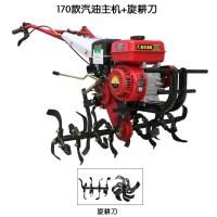 농업용 농기계 관리기 소형트렉터 경운기 로타리 그린 기계 미니 밭갈기, A.가솔린+로터리커터개 (TOP 5596360776)