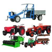 KDW 1대18 농장용 농기계 경운기 트랙터 합금장난감 모형, 녹색 복합 수화기 (TOP 1933674960)