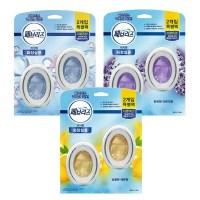페브리즈 비치형 화장실용 2개입(6ml+6ml)/용방향제, 상쾌한 비누향6ml+6ml (TOP 260910124)