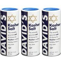 Davids Kosher Salt 데이비드 코셔 소금 16온스 3개 (TOP 5613737929)