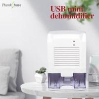 THANKSHARE 제습기 공기 건조기 USB 800ML 호환 홈 욕실 흡수 자동차 미니 공기 건조기 전기 냉각 5V 2A, 미국 (TOP 5606081305)