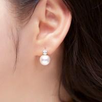 [빠른배송] 도로시 14k 10mm 스와로브스키 진주 귀걸이(H) (POP 1063399779)