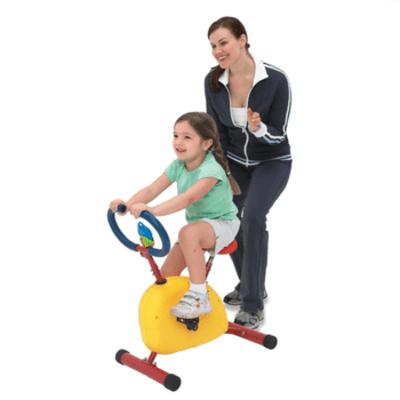 어린이 헬스 운동기구 실내 자전거, 사이클