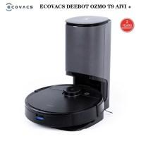 로봇청소기 무선 물걸레 청소기 미니 원룸 가성비 자동 2021 새로운 ECOVACS Deebot T9 AIVI 자동 비우기 스테이션 포함 로봇 진공, DOCK 포함 T9 AIVI, 유럽 연합 (TOP 5550253797)