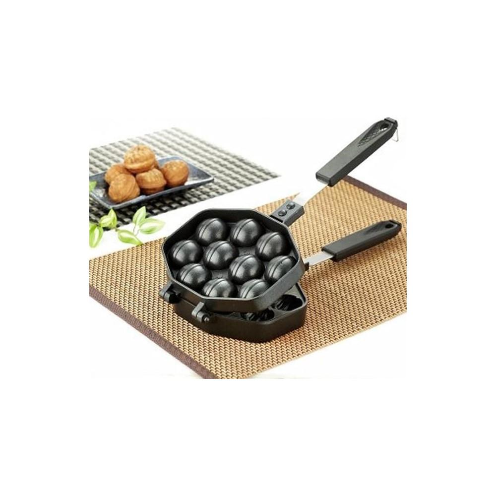 호두과자팬 빵틀 와플 W 양면팬 제조기 후라이팬 만들기