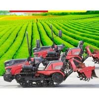 농업용 농기계 관리기 소형 트렉터 경운기 로타리 그린 기계 미니 밭갈기 밭가는 15, 추적 회전 경작 (TOP 5245539840)