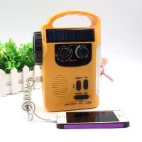 휴대용 다기능 수동식  핸드폰 충전 캠핑, 주황색 (TOP 1763341342)