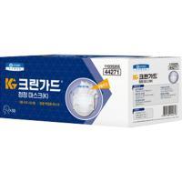 유한킴벌리산업안전 크린가드 면체마스크 44271흰색(개별포장) 50개/box (TOP 5532870818)