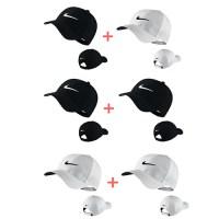 나이키골프 레가시91 테크 골프캡 골프캡(1+1), 옵션[1] 블랙+화이트 (TOP 281490908)