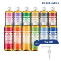 [현대백화점]닥터브로너스 퓨어 캐스틸 솝 475ml+ 펌프 (향선택), 티트리, 없음 (TOP 2226233745)