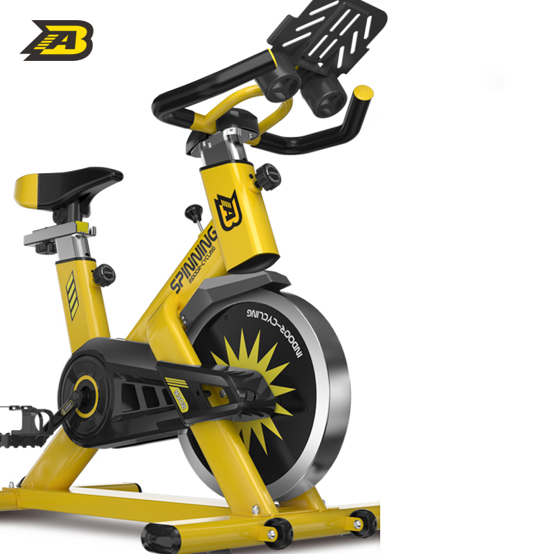 AB 실내 무소음 스핀 사이클 로잉 좌식 자전거 바이크 19, 가벼운 상업 등급 호넷 굵은 강철 튜브 + ipad 브래킷