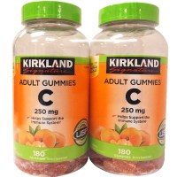 Kirkland Signature Vitamin C 250 mg 180 Adult Gummies 2병 (TOP 13420467)