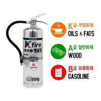 Kfire K급 소화기 강화액 4L 주방 식용류 (TOP 149607500)
