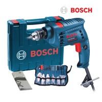 보쉬 500W 유선해머드릴 GSB1000RE+100P소재, 1세트 (TOP 107432457)
