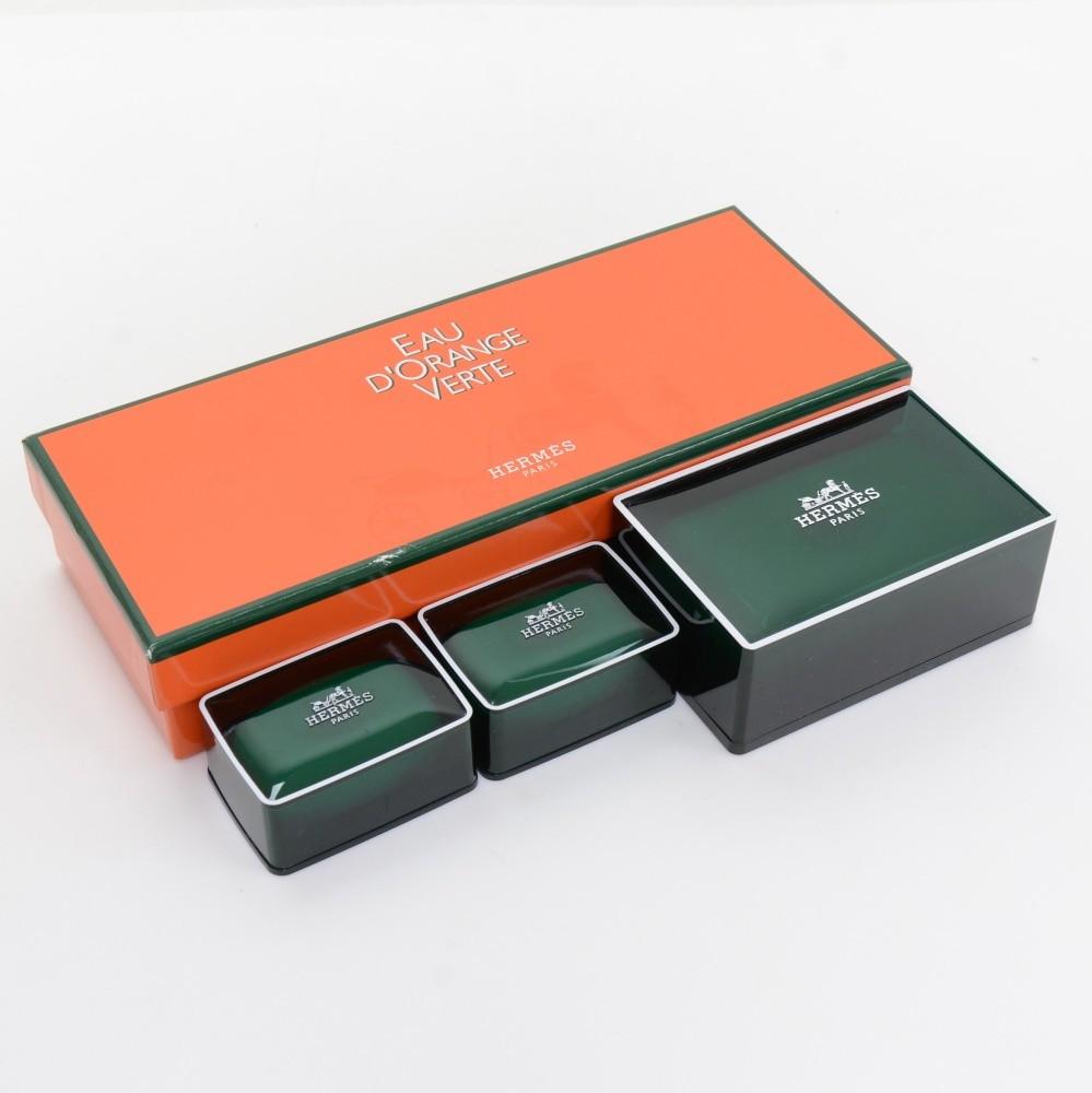 Hermes Hermes Eau D Orange Verte Soap Set