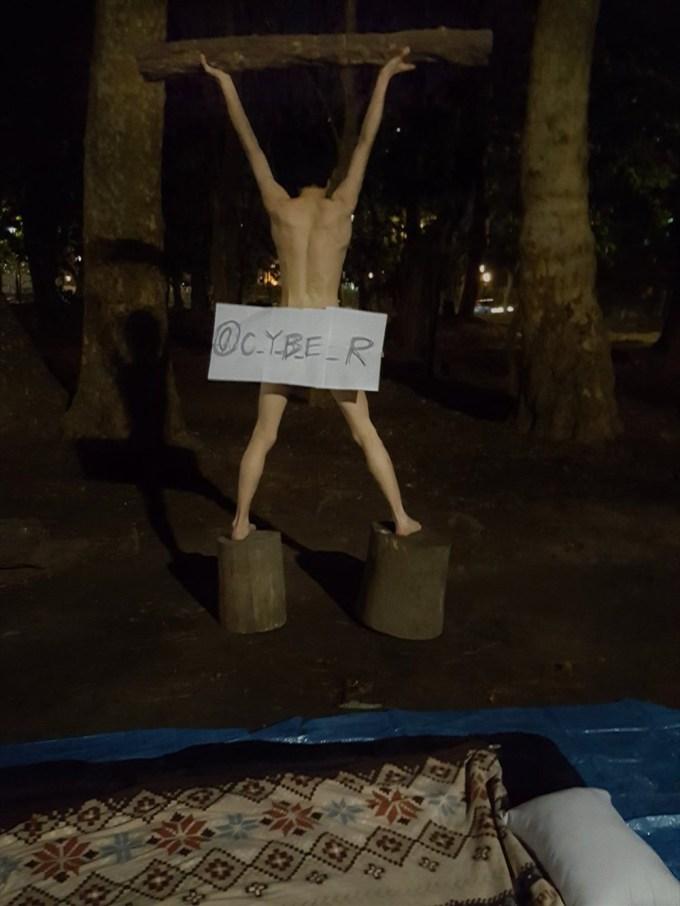 これは自業自得… ある賭けで負けた男性、真冬の仙台で裸で野宿を慣行することに