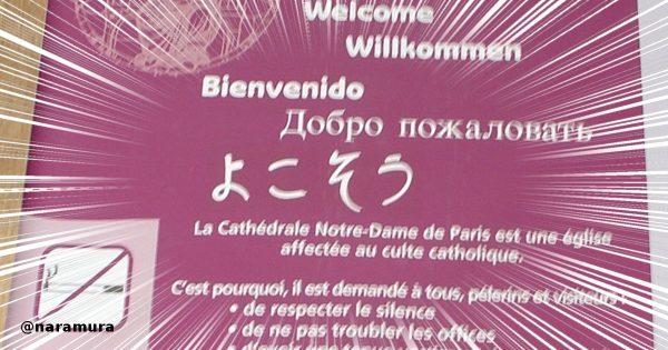 ノートルダム大聖堂の案内