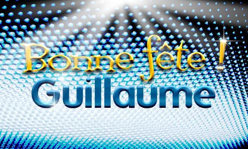 Carte Guillaume 10 Janvier Cybercartes Com