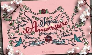 cartes anniversaire de mariage