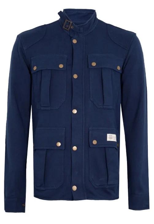 Casaco Pockets Azul