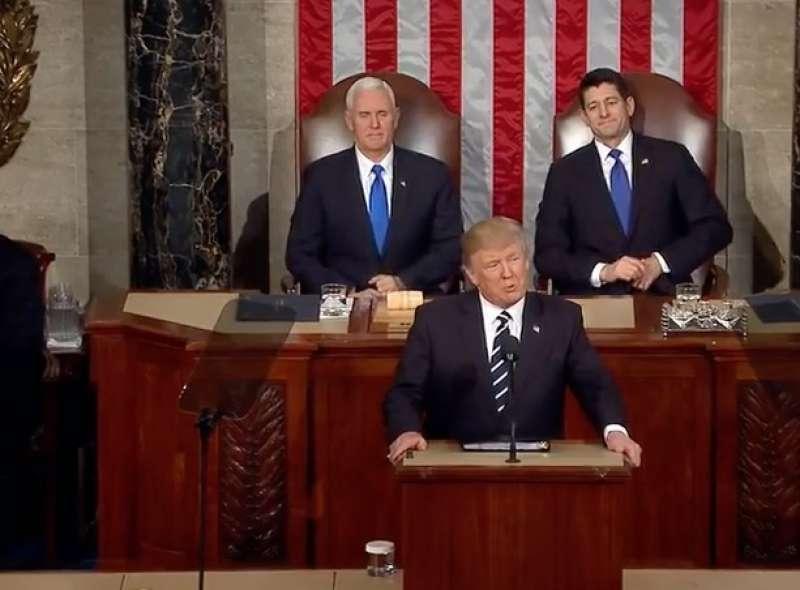il discorso di donald trump al congresso 1