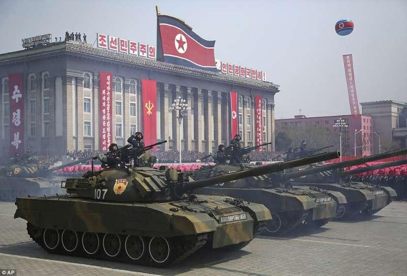 corea del nord parata militare 2017 2