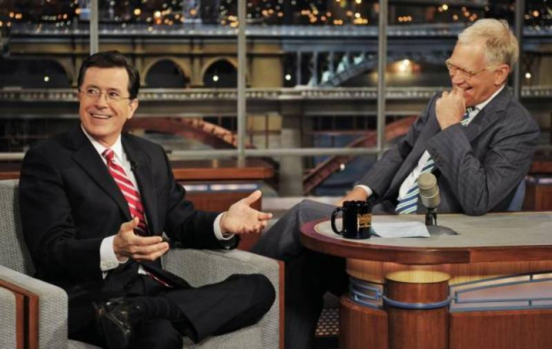 david letterman stephen colbert