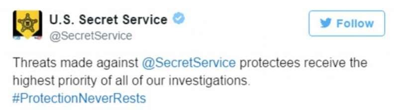 tweet servizi segreti