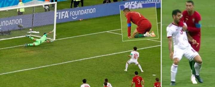 Ronaldo contro l'Iran   Numerosette Magazine