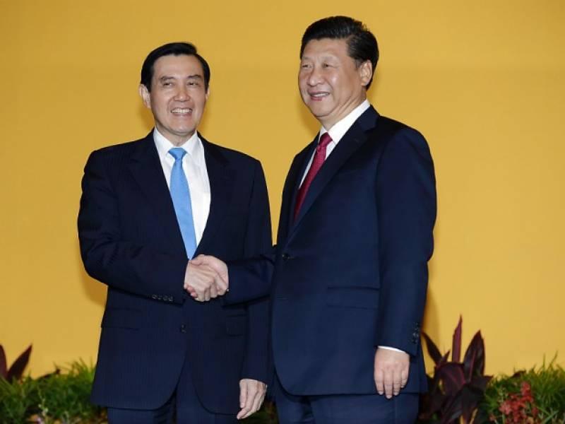XI JINPING E IL PRESIDENTE TAIWANESE MA YING JEOU