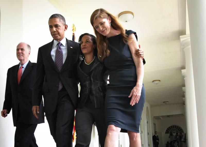 obama, susan rice e samantha power