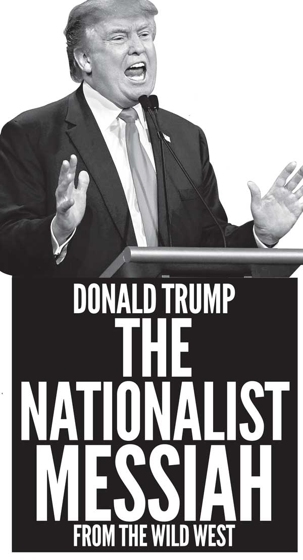 Image result for Trump is a nationalist